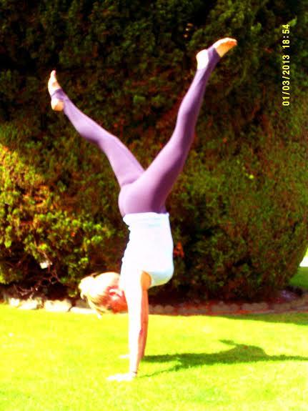 Laura Handstand Pose