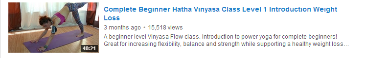 Complete Beginner Hatha Vinyasa Class Level 1 Introduction Weight Loss