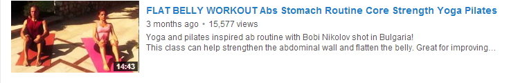 FLAT BELLY WORKOUT Abs Stomach Routine Core Strength Yoga Pilates