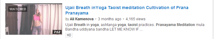 Ujaii Breath inYoga Taoist meditation Cultivation
