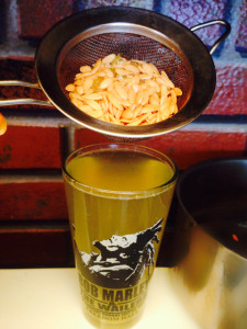 melon seed tea