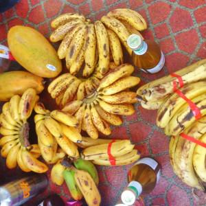 ripe baby banans