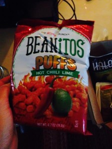 beanitos puffs hot chill lime vegan