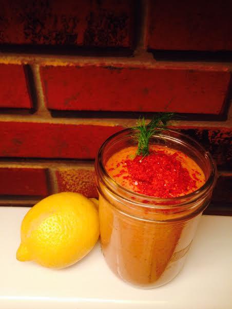 tomato dip vegan gluten free diary free low fat