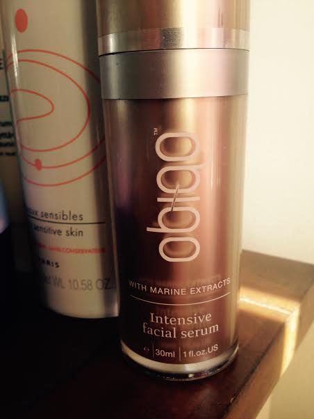 obiqo with marine extracts intensive facial serum