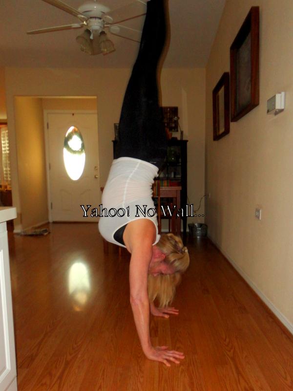 Laura Miller handstands tutorial