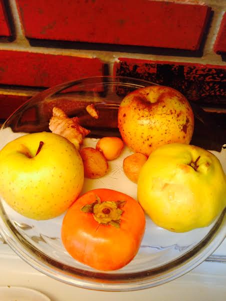 applie quince ingredients pie