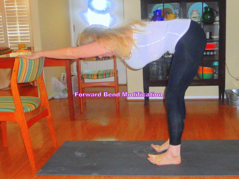 forward bend modifications