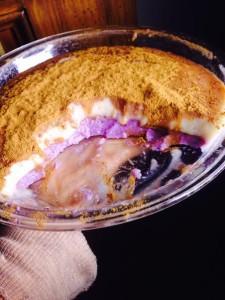 purple cake potato
