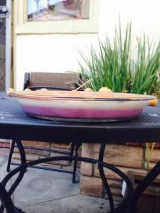 sweet potato pie purple