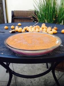 sweet potato rice pie