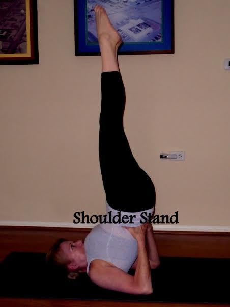 shoulder stand laura