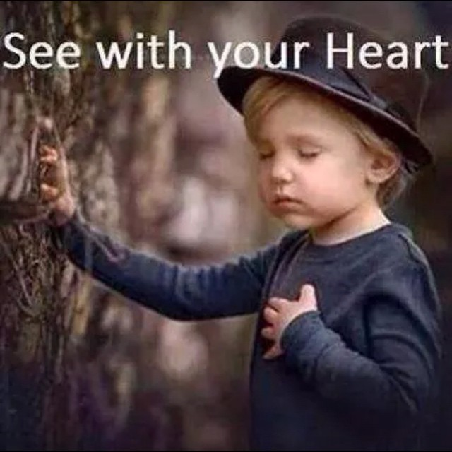 see with ur heart