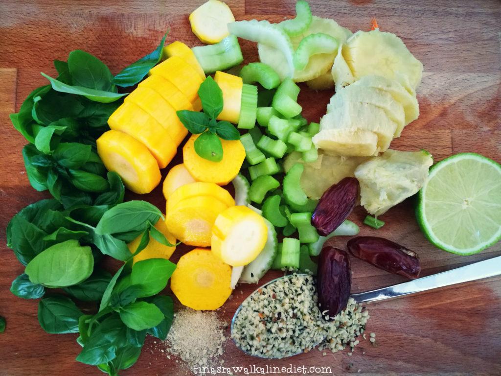 Sweet Zucchini Mustard Dressing