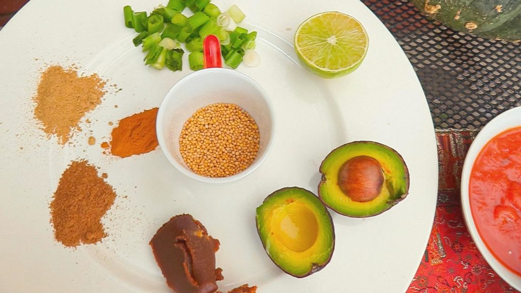 spices- for red lentil millet stew