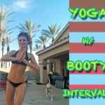 yoga with booty intervals